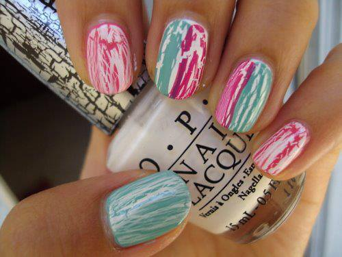 25 Cool Colorful Nail Art Ideas (21)