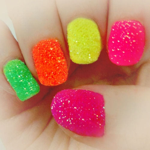 25 Cool Colorful Nail Art Ideas (24)