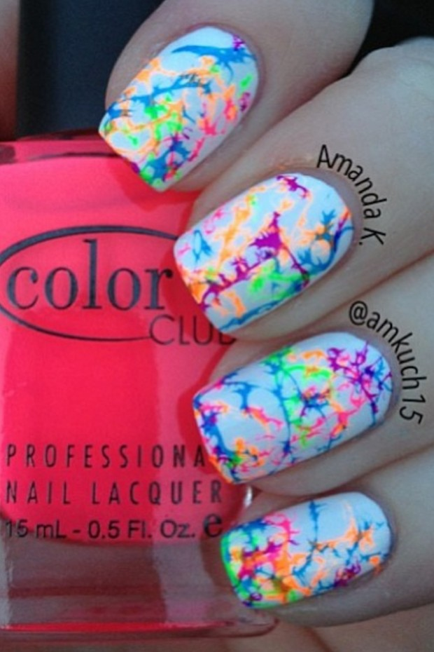 25 Cool Colorful Nail Art Ideas (3)