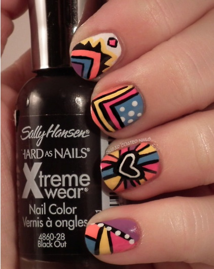 25 Cool Colorful Nail Art Ideas (4)