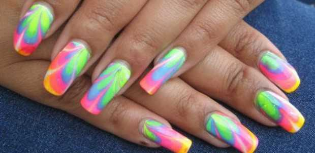 25 Crazy Summer Nail Design Ideas - 25 Crazy Summer Nail Design Ideas - Style Motivation