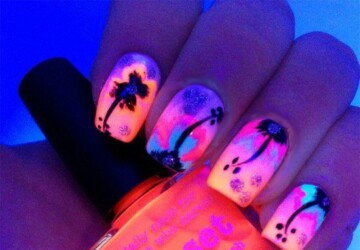 25 Crazy Summer Nail Design Ideas - summer trend, summer nail design, neon nails, Nails art, nail design ideas, Crazy