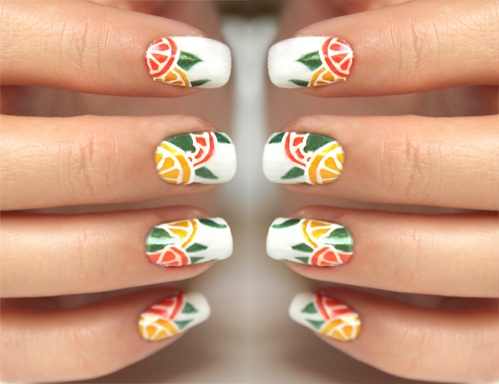25 Crazy Summer Nail Design Ideas