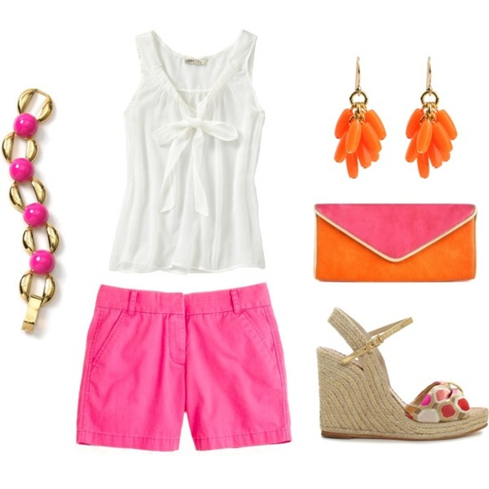 25 Great Outfit Ideas with Shorts (6)