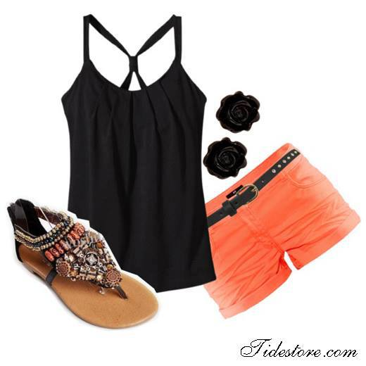 25 Great Outfit Ideas with Shorts (9)