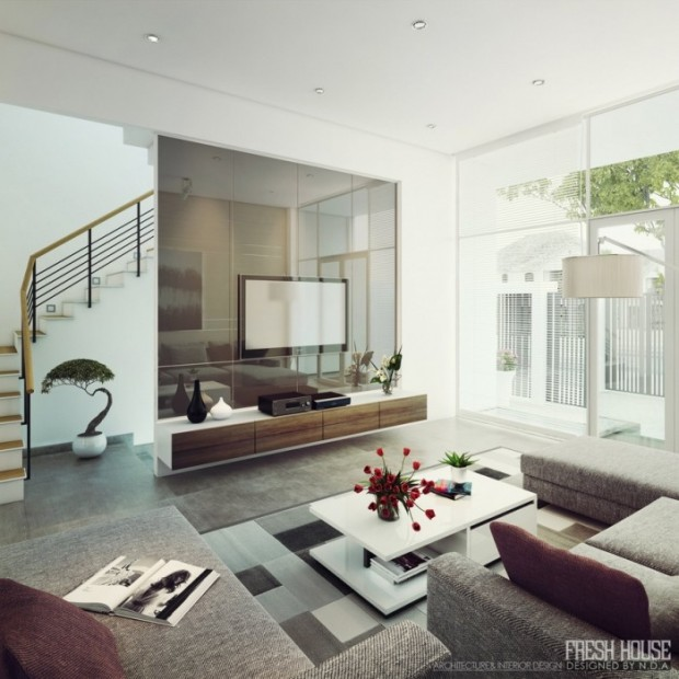 25 Luxurious Modern Living Rooms