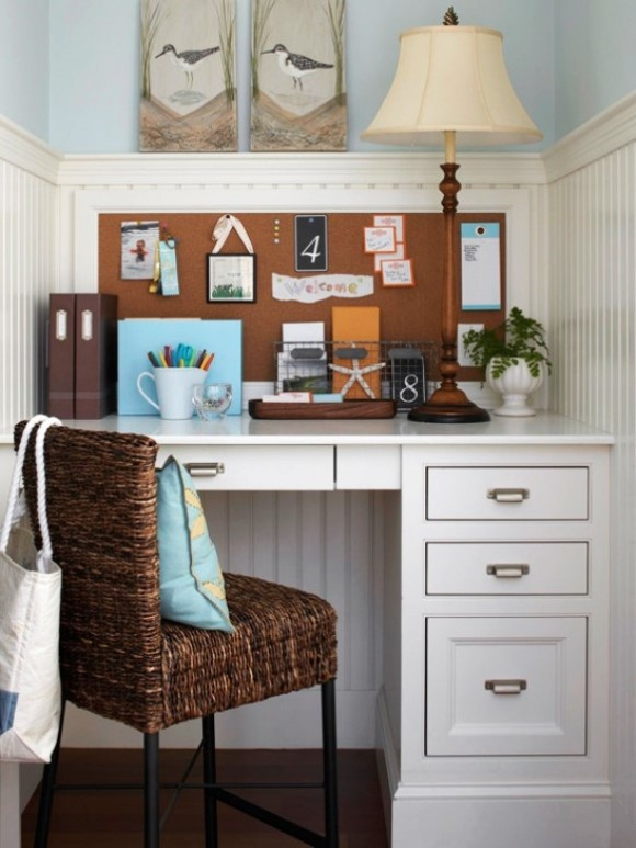 25 great home office decor ideas style motivation for Home office designs ideas