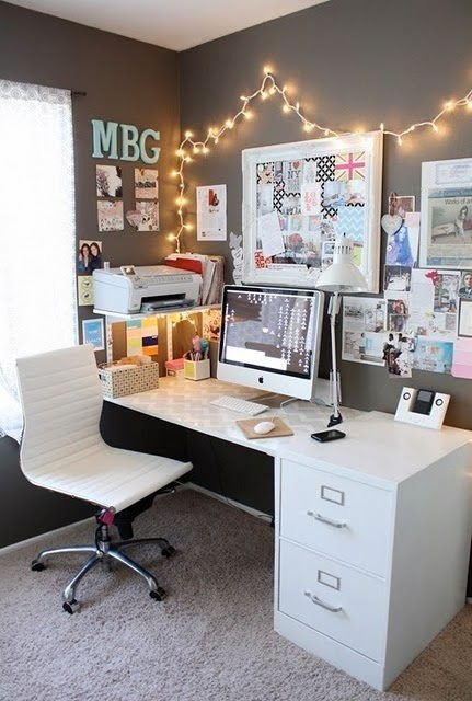 26 Great Home Office Decor Ideas (20)