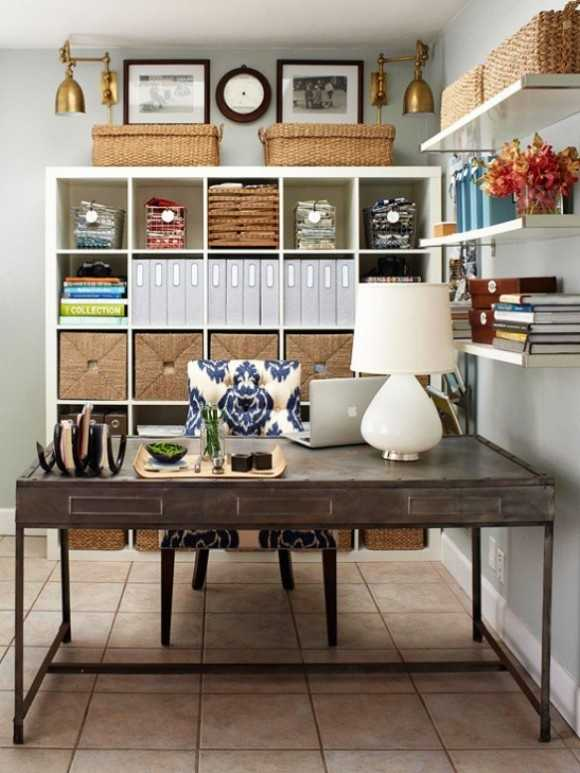 25 great home office decor ideas style motivation for Home offices ideas
