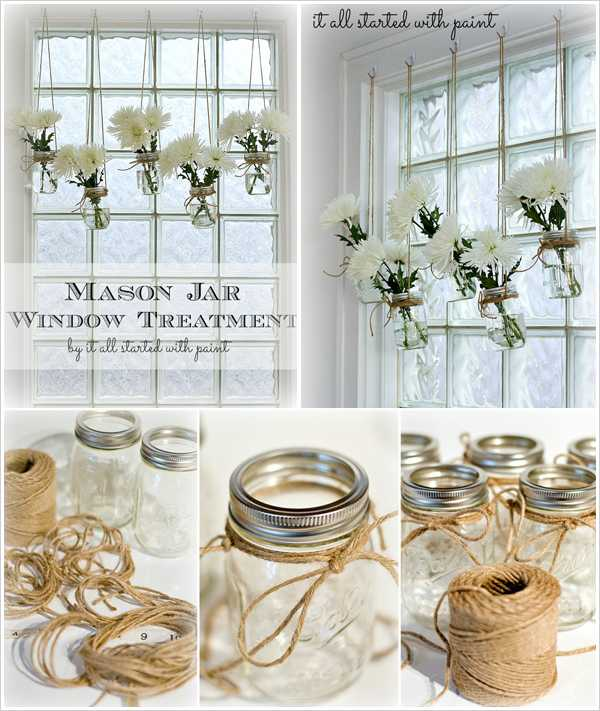 Easy Home Decor Ideas Simple Of DIY Home Decor Ideas Mason Jars Image