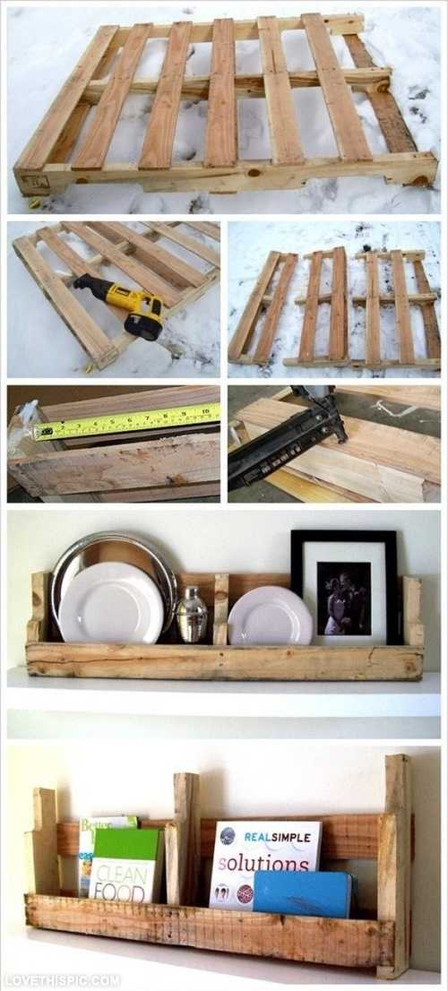 25 cute diy home decor ideas style motivation for Diy pallet home decor