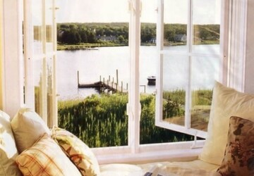 28 perfect relaxing spaces by the window - Window, Space, small space, Relaxing