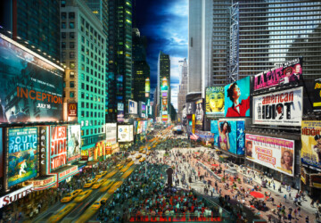 Day to Night By Stephen Wilkes -