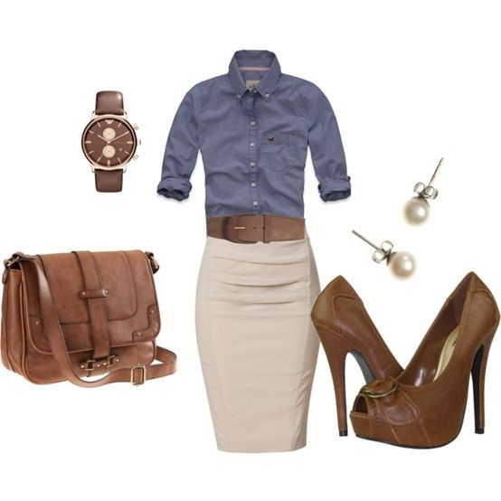 30 Classic Work Outfit Ideas (29)