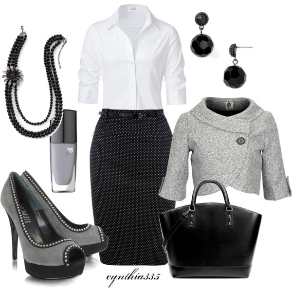 30 Classic Work Outfit Ideas (38)