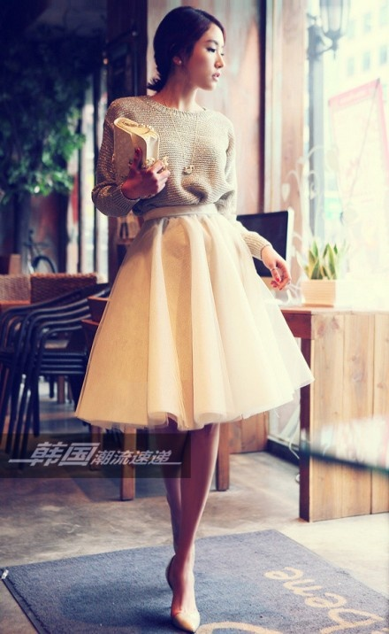 30 Outfit Ideas with Lace and Tulle for Romantic Look (8)