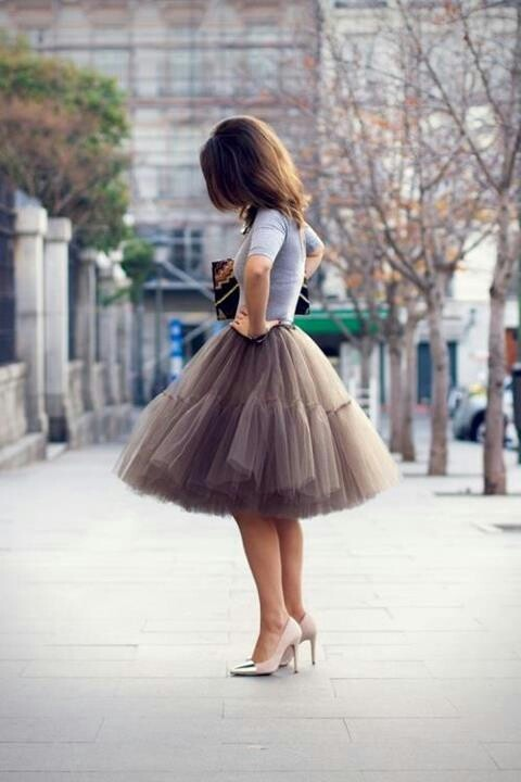 30 Outfit Ideas with Lace and Tulle for Romantic Look (9)