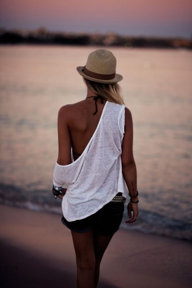 30 great beach outfit ideas and beach accessories (7)