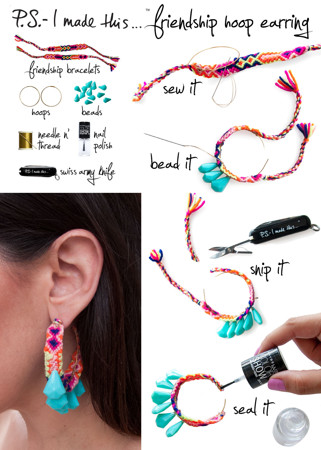 20 Easy and Beautiful Earring DIY Ideas - Style Motivation
