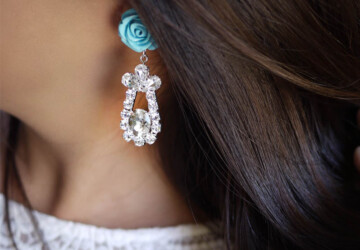 20 Easy and Beautiful Earring DIY Ideas - Easy, Earrings, diy, beautiful