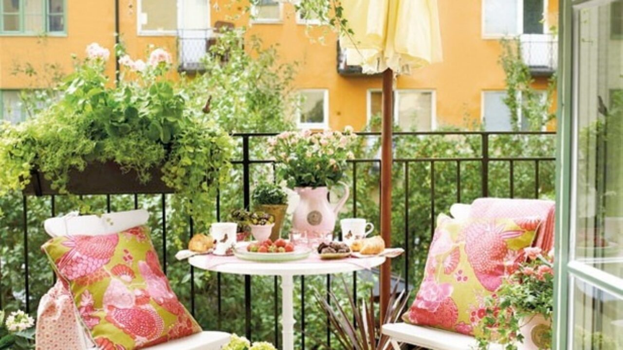 how to decorate a balcony 23 Amazing Decorating Ideas For Small Balcony Style Motivation