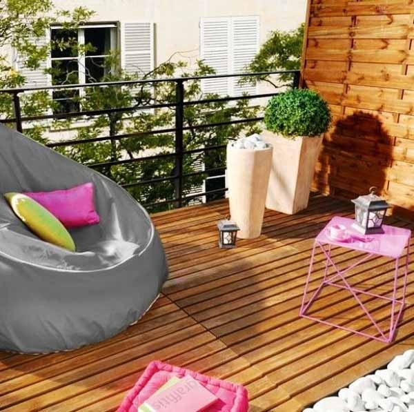 23 amazing decorating ideas for small balcony style motivation - Decoration petit balcon ...