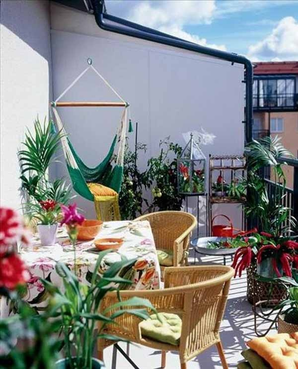 23 Amazing Decorating Ideas for Small Balcony