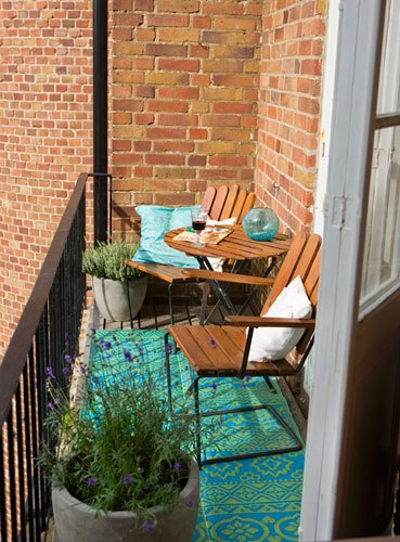 Small Balcony Apartment Rustic: 23 Amazing Decorating Ideas For Small Balcony