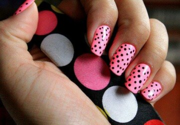 30 Amazing Dots Nail Art Ideas - Nail Art, ideas, Dots