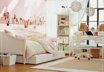 24 Cute girls' rooms - rooms, girls, Cute