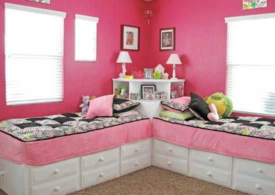24 cute girls rooms style motivation. Black Bedroom Furniture Sets. Home Design Ideas