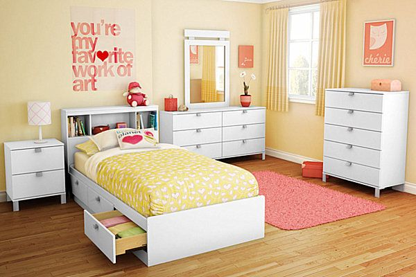 24 cute girls rooms style motivation - A nice bed and cover for teenage girls or room ...