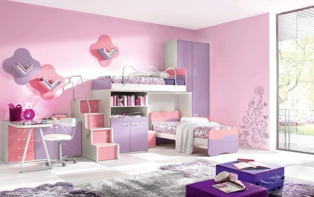 7 Inspiring Kid Room Color Options For Your Little Ones: 24 Cute Girls' Rooms