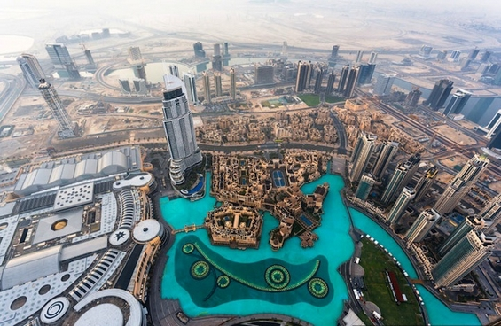 Dubai City between dream and reality