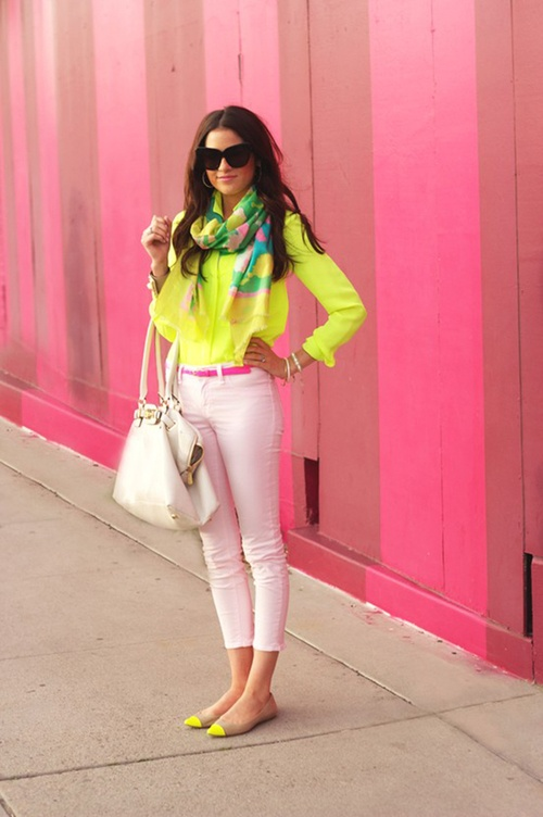 Fashion Trend: Neon Colors! - Style Motivation