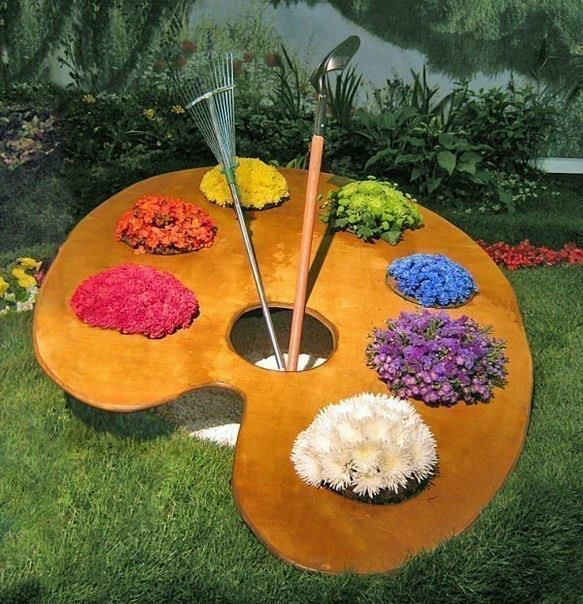 21 Great Garden Decorating Ideas