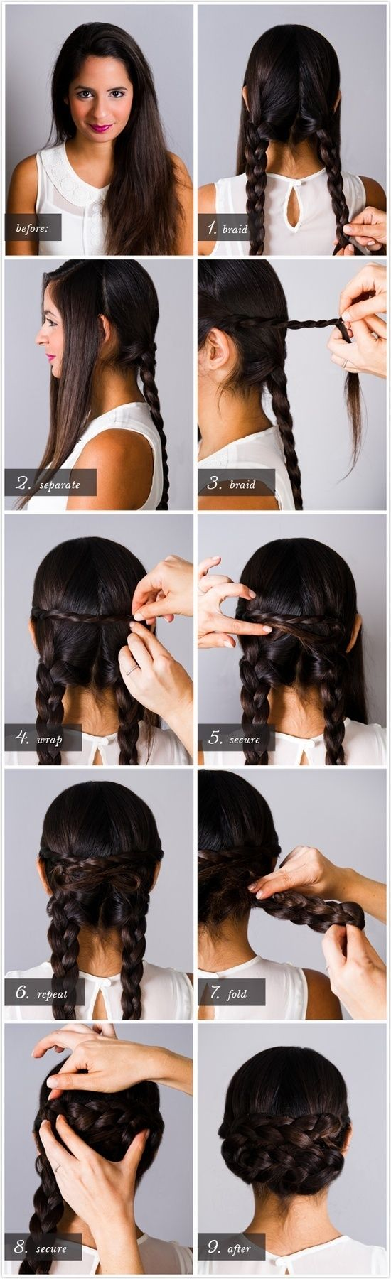 Great tutorials for gorgeous hairstyles (13)