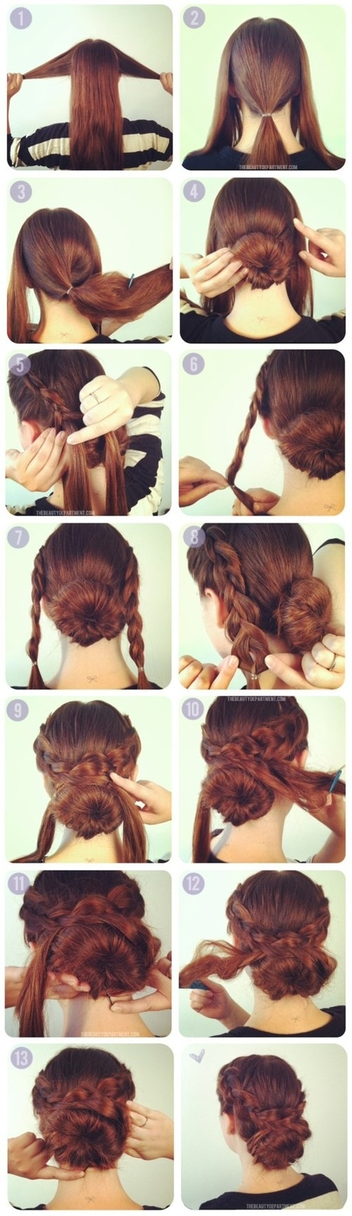 Great tutorials for gorgeous hairstyles (17)