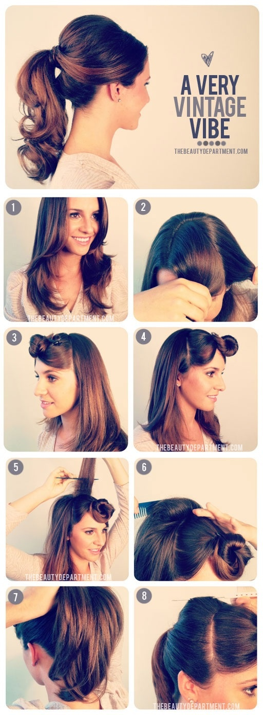 Great tutorials for gorgeous hairstyles (27)