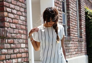 Stripes for Summer - 20 Trendy Outfit Ideas - summer, Stripes, Outfit ideas
