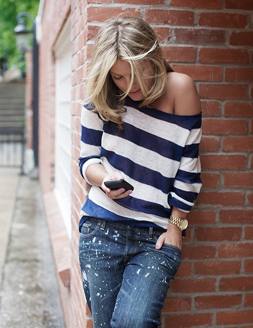 Stripes for Summer- 24 trendy outfit ideas (10)