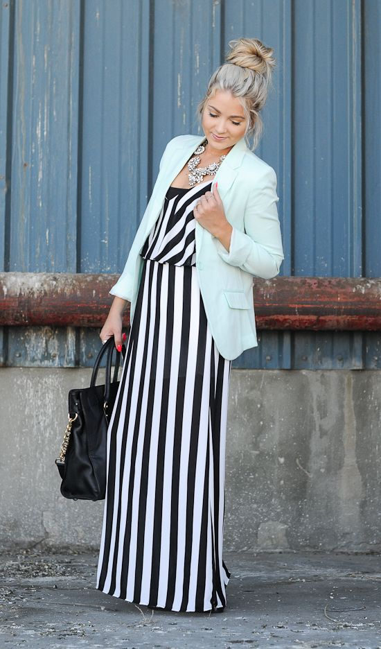 Stripes for Summer- 24 trendy outfit ideas (15)