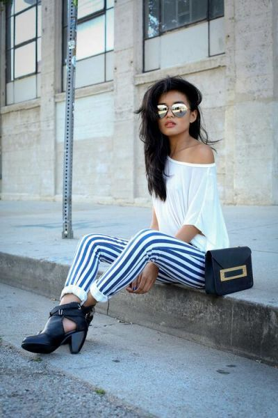 Stripes for Summer- 24 trendy outfit ideas (21)