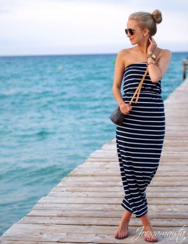 Stripes for Summer- 24 trendy outfit ideas (3)