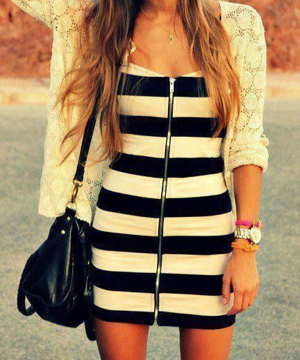 Stripes for Summer- 24 trendy outfit ideas (5)