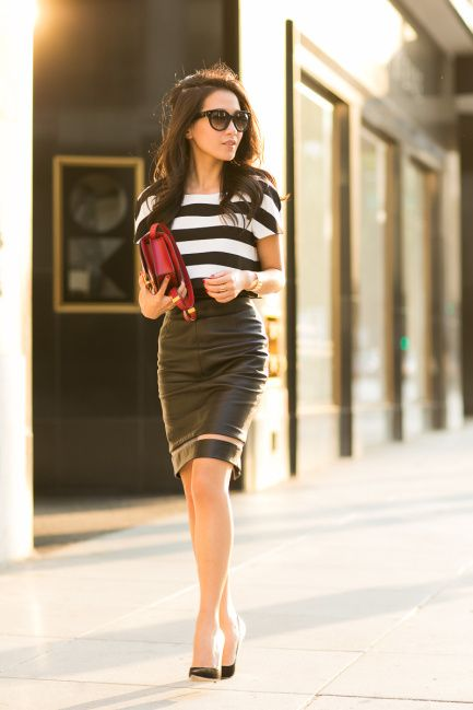 Stripes for Summer- 24 trendy outfit ideas (6)