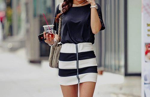 Stripes for Summer- 24 trendy outfit ideas (7)