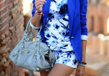 Summer Color Trend: Royal Blue! - summer, Royal Blue, Dress, Color Trend