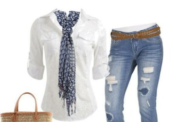 22 Amazing Jeans Outfit Ideas - Outfit ideas, jeans