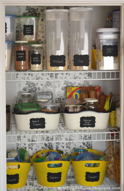 19 Great DIY Kitchen Organization Ideas  (4)